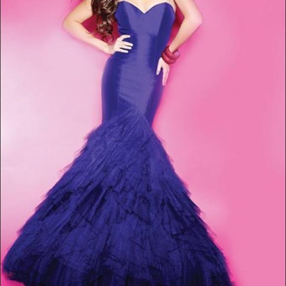 Mori Lee Dresses | Size 4 Purple Prom Dress Mermaid New Nwt | Poshmark
